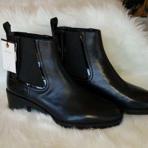 Zara Woman Genuine Leather Chelsea Boots